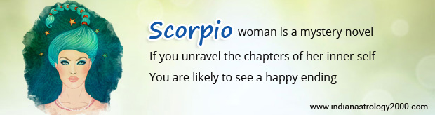 Scorpio woman matches best with