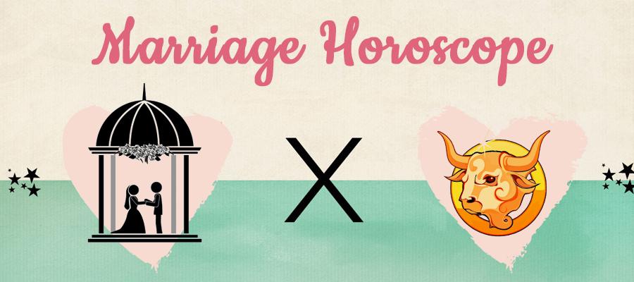 Taurus 2019 Marriage Horoscope
