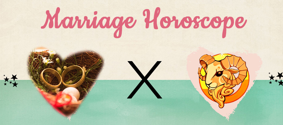 Aries Marriage Horoscope 2019