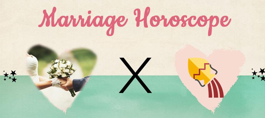 Aquarius 2019 Marriage Horoscope